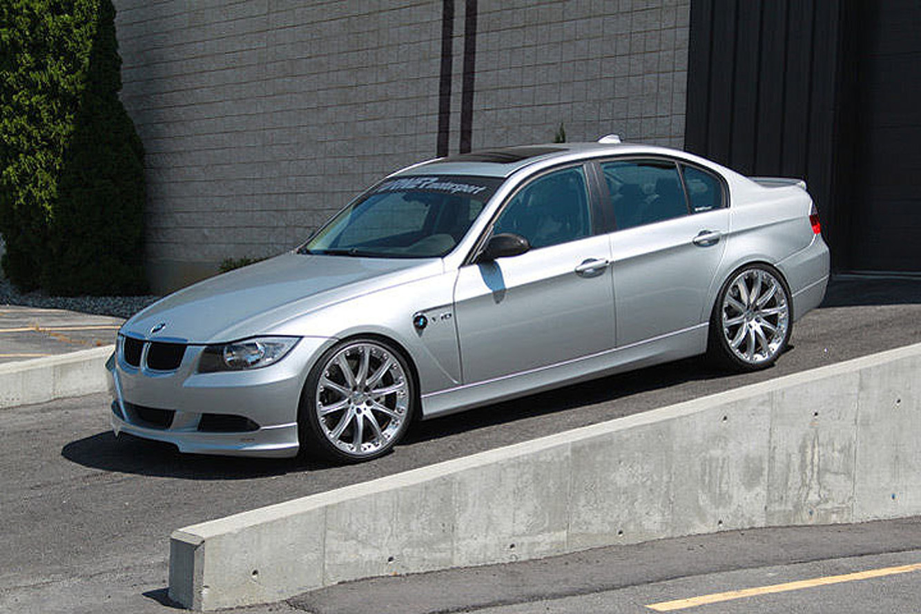 Surprise! This BMW 3 Series Packs a 550-HP V10 Engine
