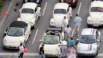VW Beetle Parade in Berlin - Herbie
