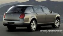 Spy Photos: New Bentley 4x4, Artist Impression