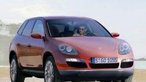 Porsche Cayenne Compact artist rendering