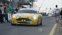 Aston Martin V8 Vantage at Nurburgring