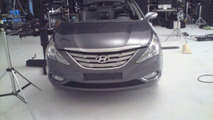 2011 Hyundai Sonata spied inside and out during photoshoot