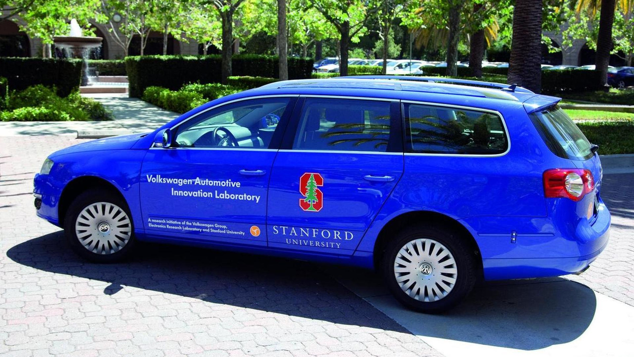Volkswagen Passat wagon aka Junior, 2007 DARPA Urban Challenge in the USA