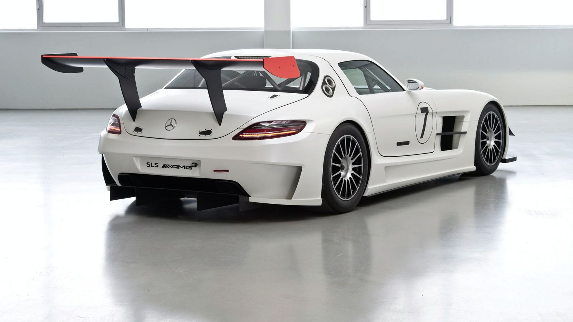 Mercedes-Benz SLS AMG GT3 tape sketch time lapse [video]