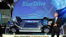 Hyundai Reveals Hybrid Blue Drive Architecture in L.A.