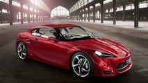 Toyota FT-86 four-door sedan variant rumoured