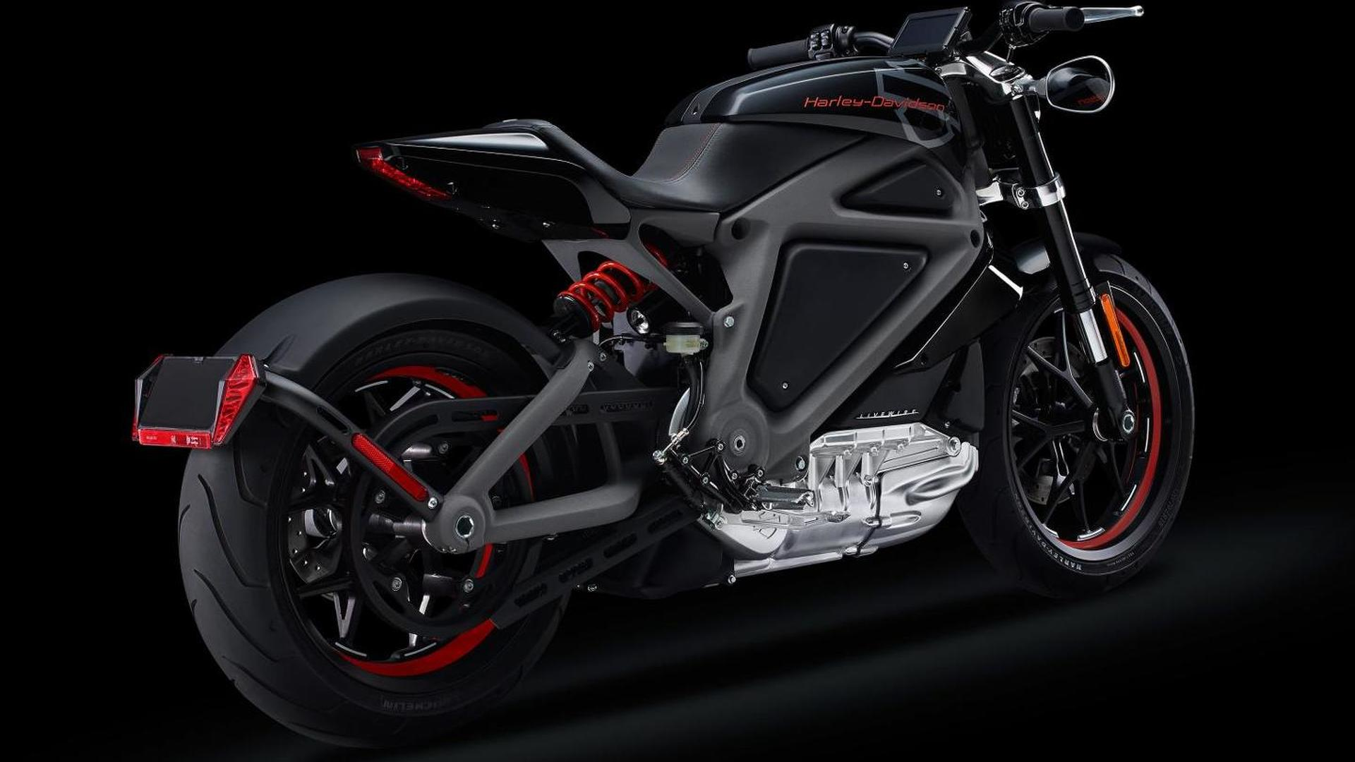 Harley-Davidson Project LiveWire revealed as their first electric motorcycle