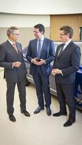 Bentley CEO Wolfgang Dürheimer & Vertu CEO Massimiliano Pogliani