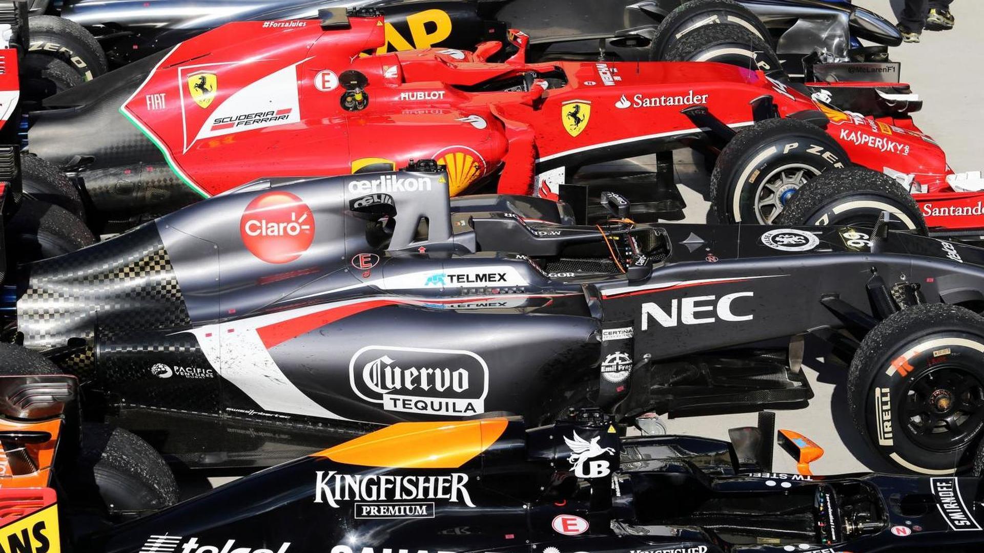 McLaren, Mercedes play down three cars for 2015
