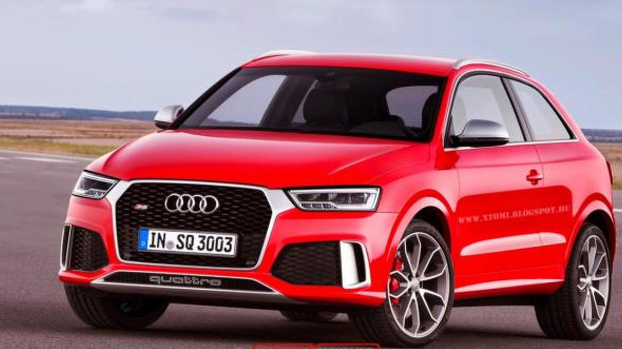 2015 Audi RS Q3 without rear doors render