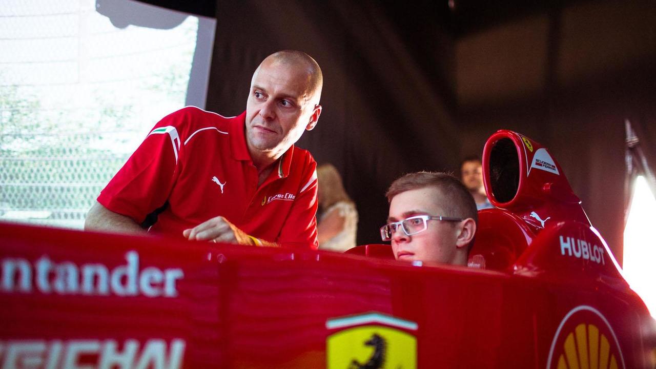 Ferrari 10th anniversary party in Russia