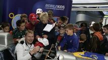 Mika Häkkinen is Ambassador to MobileKids