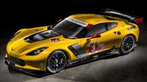2014 Chevrolet Corvette C7.R looks menacing in leaked official pics