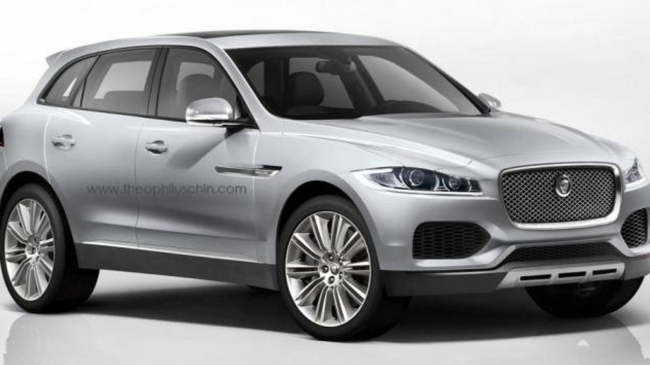Jaguar C-X17 production version artists rendering