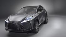 Lexus LF-NX crossover concept bows in Frankfurt [videos]
