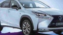 2015 Lexus NX partially revealed in magazine before this month's Beijing launch