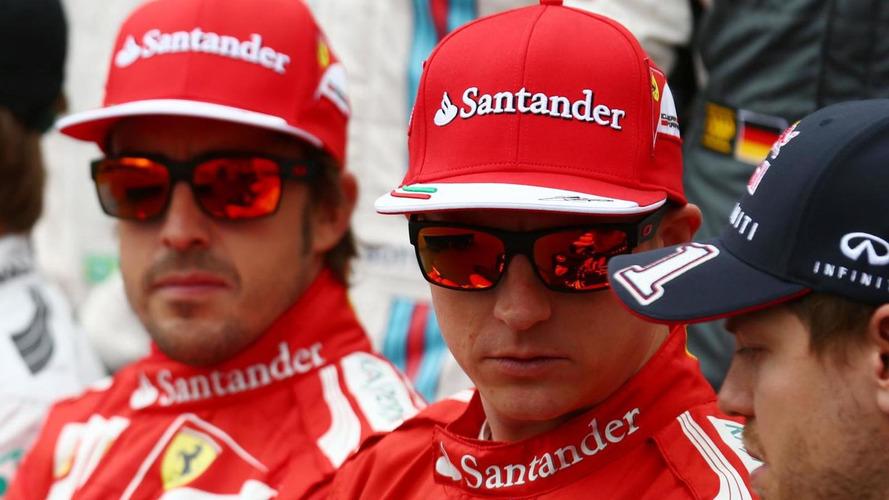Alonso 'very happy' to share Ferrari with Raikkonen