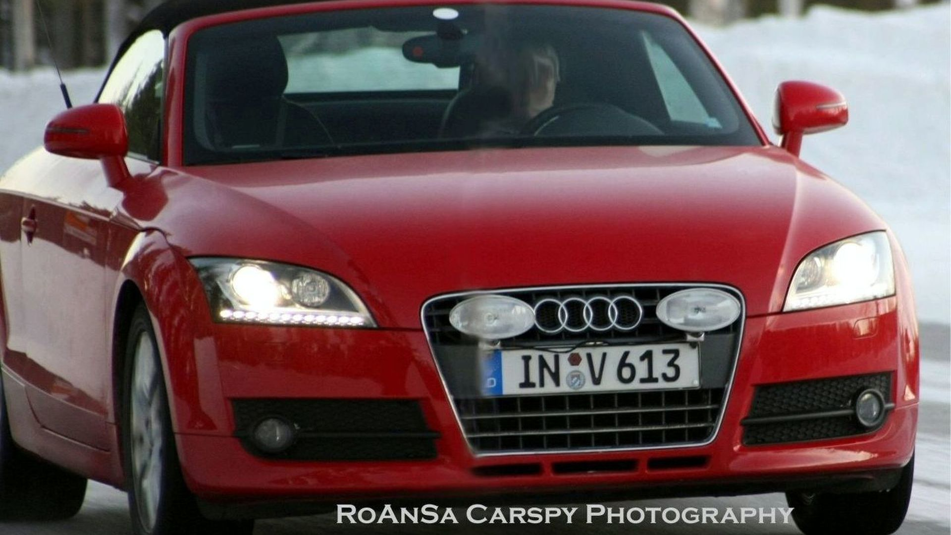 Audi TT New LED Daytime Running Lights Uncovered