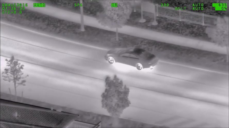 Police helicopter tracks car driving suspiciously, playing Pokemon Go