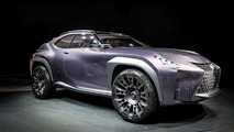 Lexus UX concept shows a new take on compact crossover design in Paris