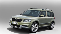 2014 Skoda Yeti facelift officially announced