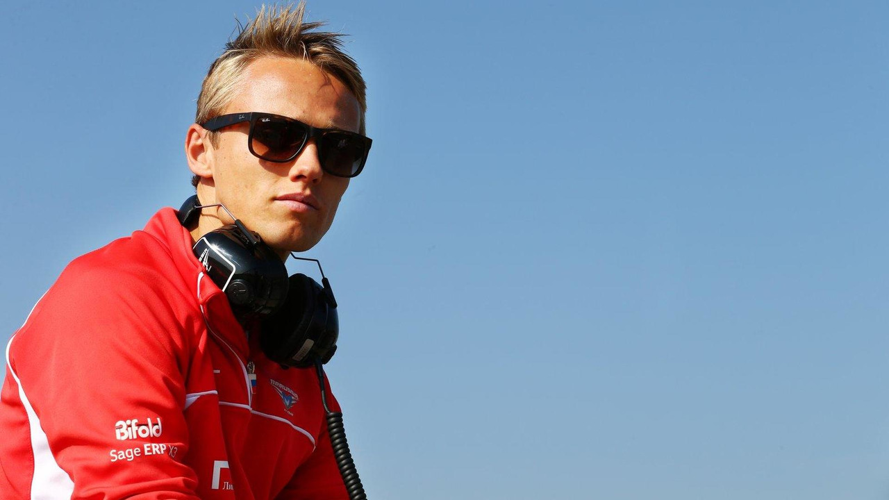 Max Chilton, Marussia F1 Team 17.07.2013 Formula One Young Drivers Test Day 1 Silverstone England