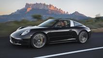 2014 Porsche 911 Targa 4 and Targa 4S officially revealed at NAIAS, pricing announced