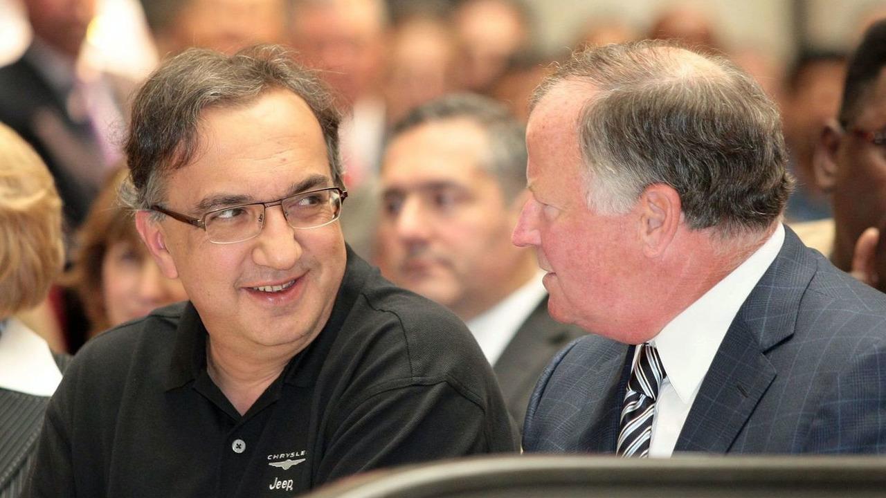 Chrysler CEO Sergio Marchionne (left) and Chairman C. Robert Kidder