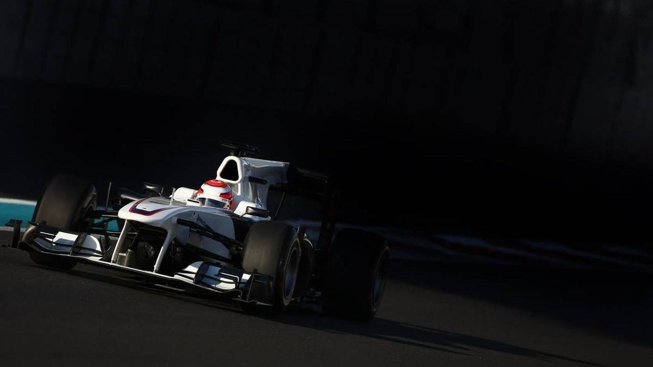 Kamui Kobayashi (JAP), BMW Sauber F1 Team - Formula 1 Testing, Pirelli tyre test, 19.11.2010 Abu Dhabi