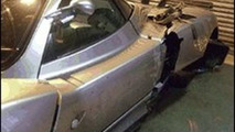 Crashed Pagani Zonda cost 335,000 euros to repair - no total loss