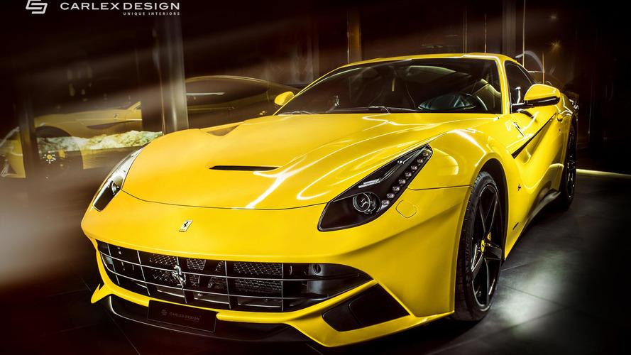 Carlex Design's Yellow F12berlinetta Is No Second Banana Ferrari