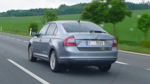Skoda Rapid spy photo 17.05.2012