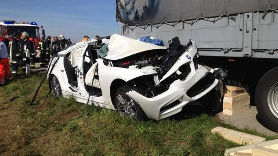 BMW test driver dies in a 3-series hybrid prototype on the Autobahn