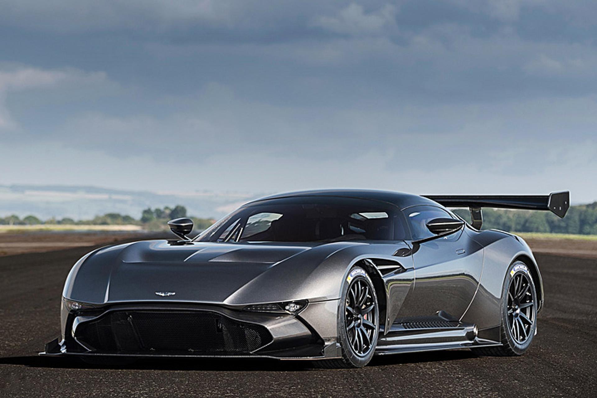 Go Behind the Scenes With $2 Million Aston Martin Vulcan Supercar
