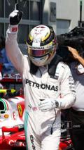 Austrian GP qualifying podium 2016