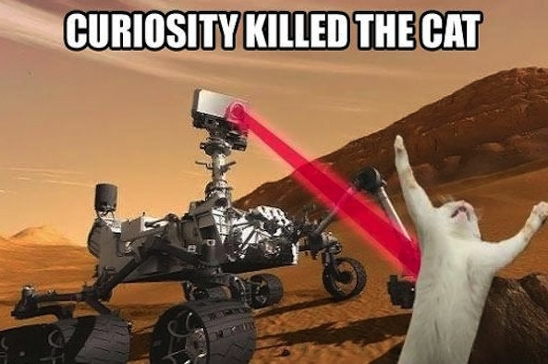 Curiosity Rover Finds a