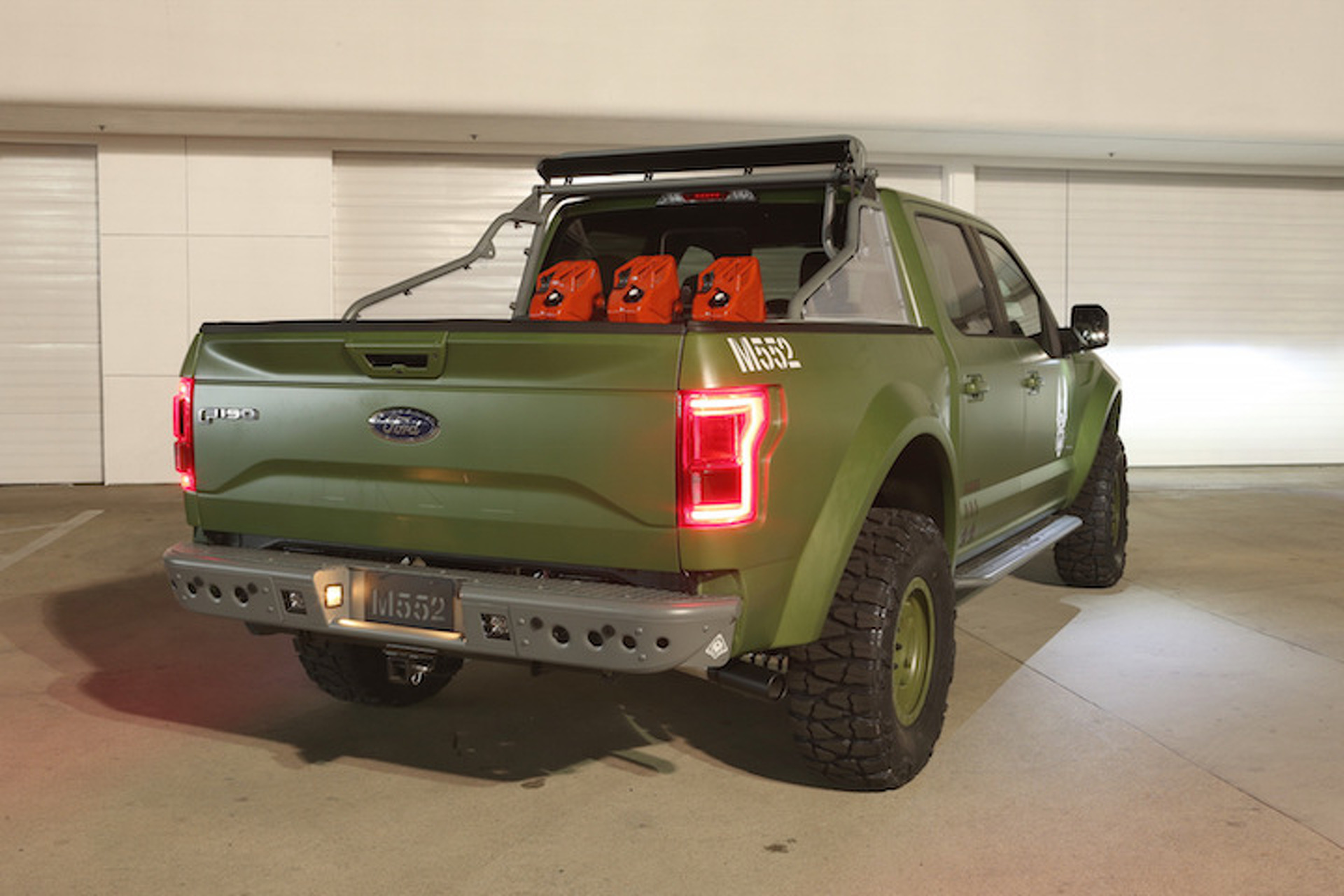 Ford F-150 Halo Sandcat is Ready for Virtual Battle