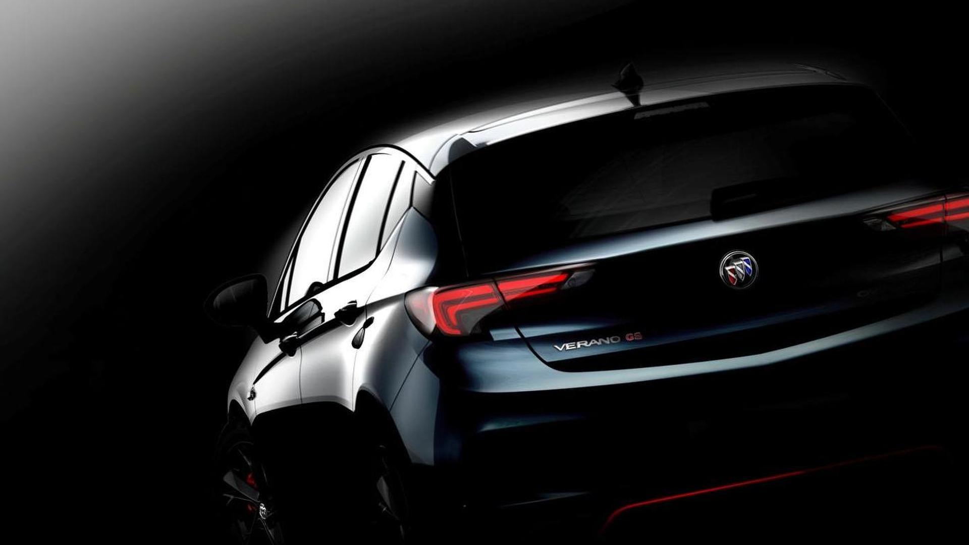 Buick Verano Hatchback & Verano GS announced