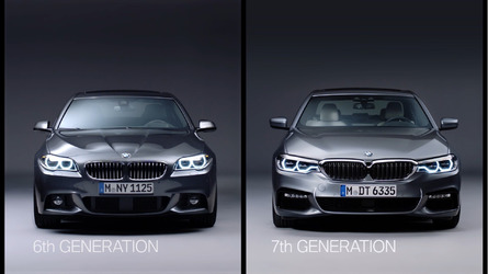 Old versus new: BMW 5 Series F10 and G30 video comparison