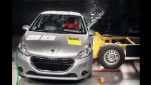Latin NCAP: teste mais rigoroso faz Peugeot 208 cair e Kia Picanto zerar