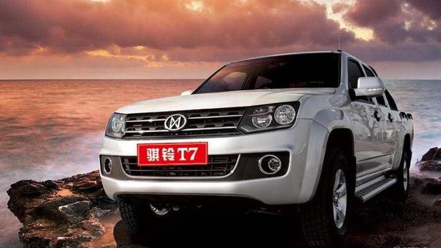 Jiangling T7 rips off the Volkswagen Amarok