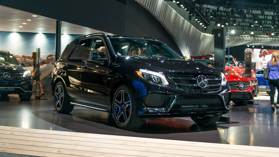 New Mercedes-AMG GLE43 flexes its muscle in L.A.