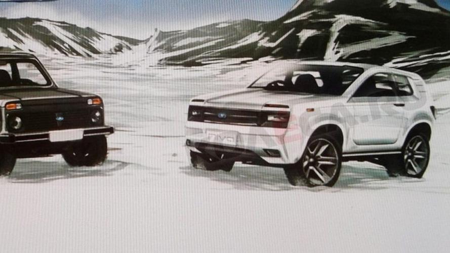Novo Lada Niva aparece em suposto desenho oficial