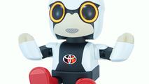 Toyota Kirobo Mini robot reads user emotions