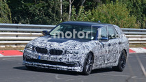 Alpina B5 Touring Spy Photos