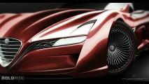Ugur Sahin Design Alfa Romeo 12C GTS Concept