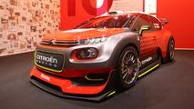 380-hp Citroen C3 WRC Concept let loose in Paris