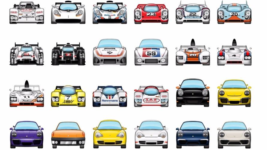 Des Porsche en emojis disponibles pour les iPhone