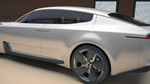 Kia GT concept could drop the V6 for production - report