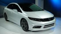 2012 Honda Civic Concept sedan live in Detroit 10.01.2011